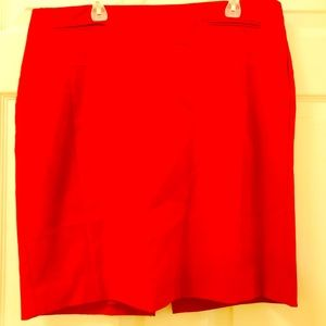 Bundle of 2 Express woman Red & Blue Skirt Size 10